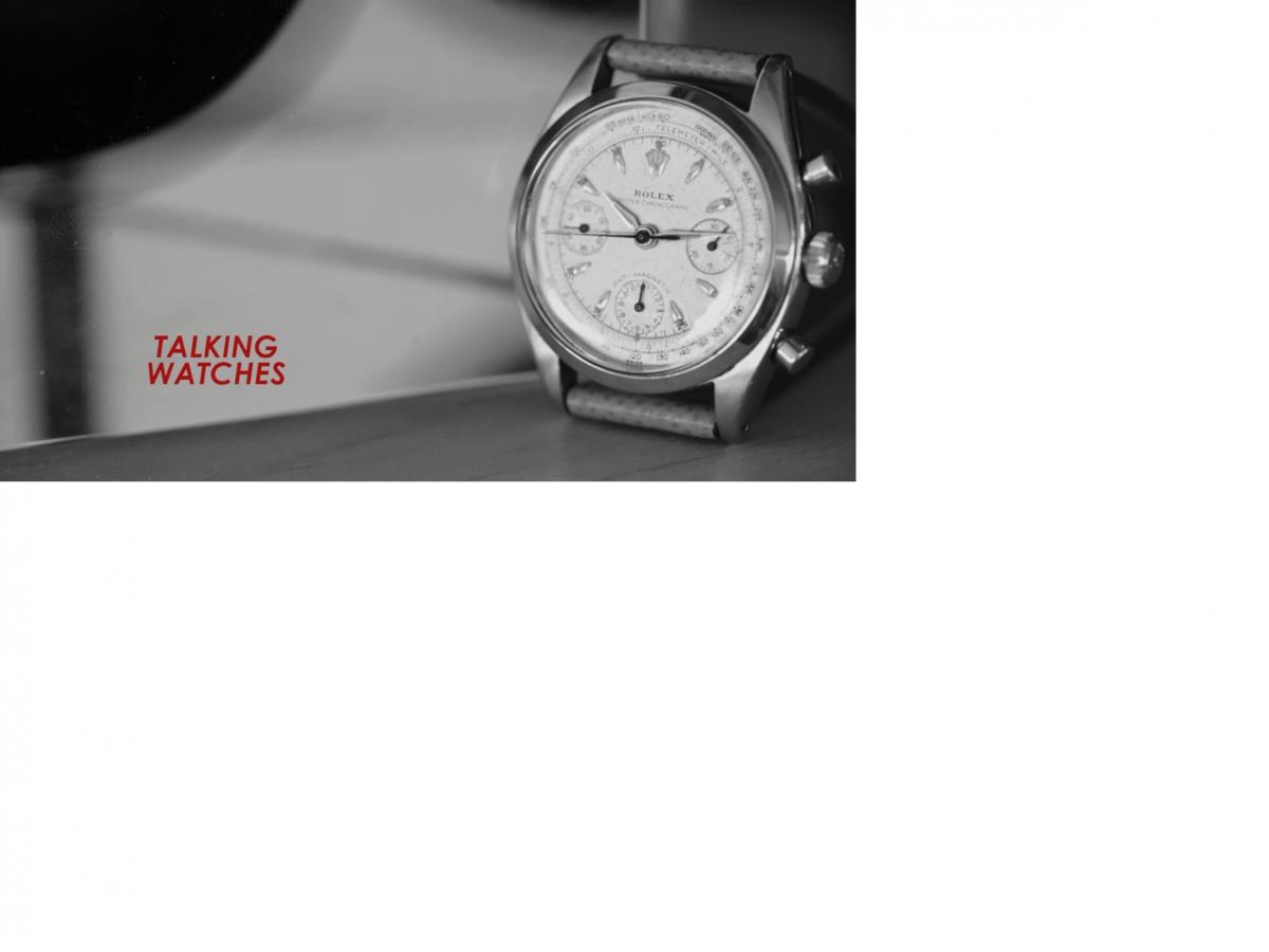 Talking Watches With Aziz Ansari