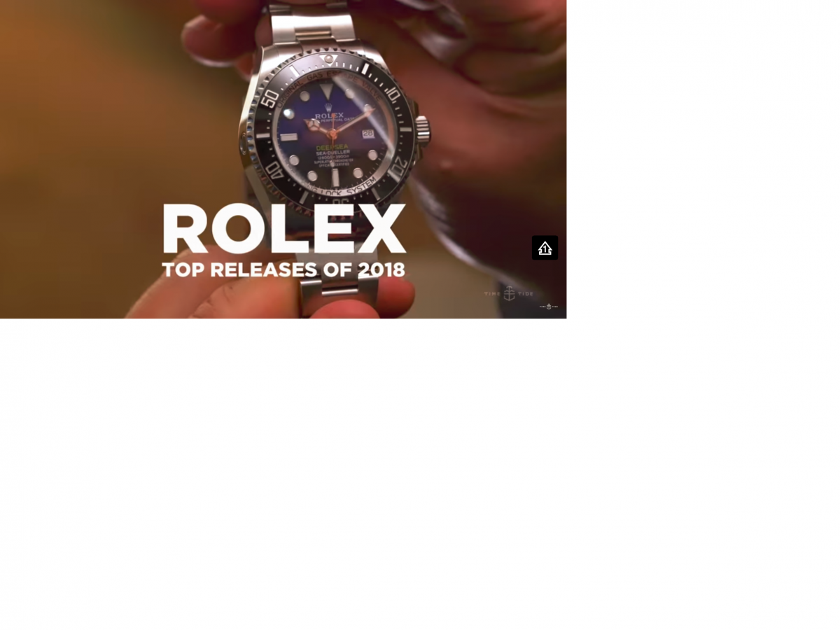 Top 5 Rolex's at Basel 2018