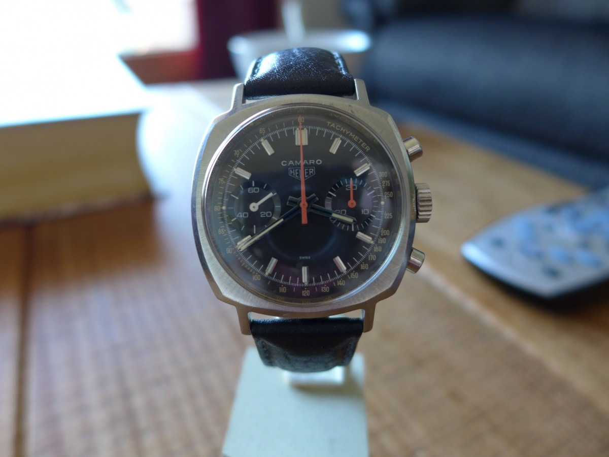 Hands on With Heuer Camaro