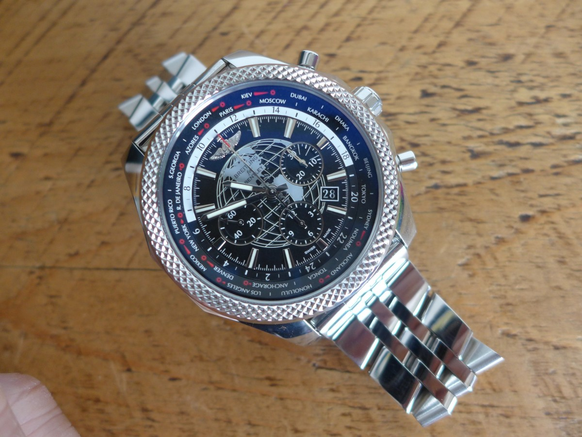 The Breitling Bentley B05 Ref AB0521U4