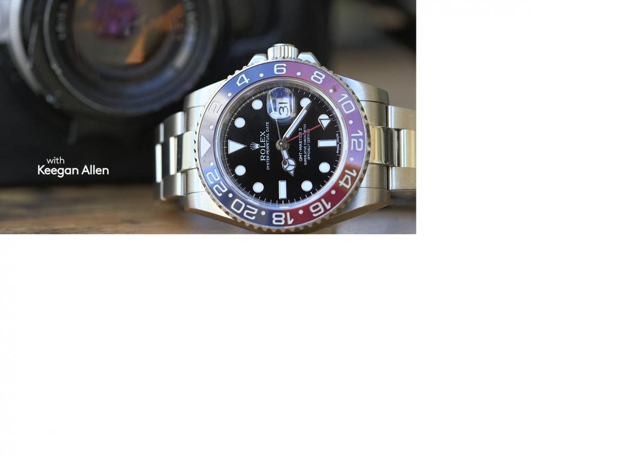 Talking Watches With Keegan Allen